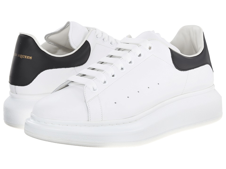 Alexander McQueen - Low Top Sneaker (White/Black) Men