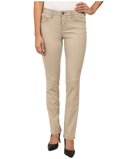 Jag Jeans - Sophie Mid Rise Straight Bay Twill (British Khaki) Women's Casual Pants