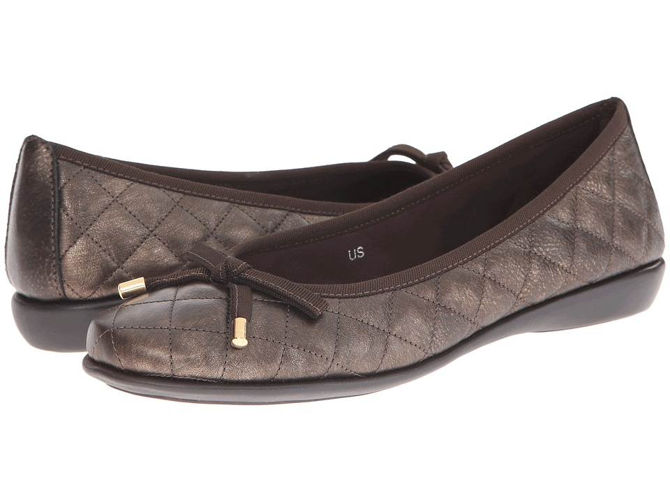 The FLEXX - Bon Gout (Bronze Shadow) Women's Flat Shoes