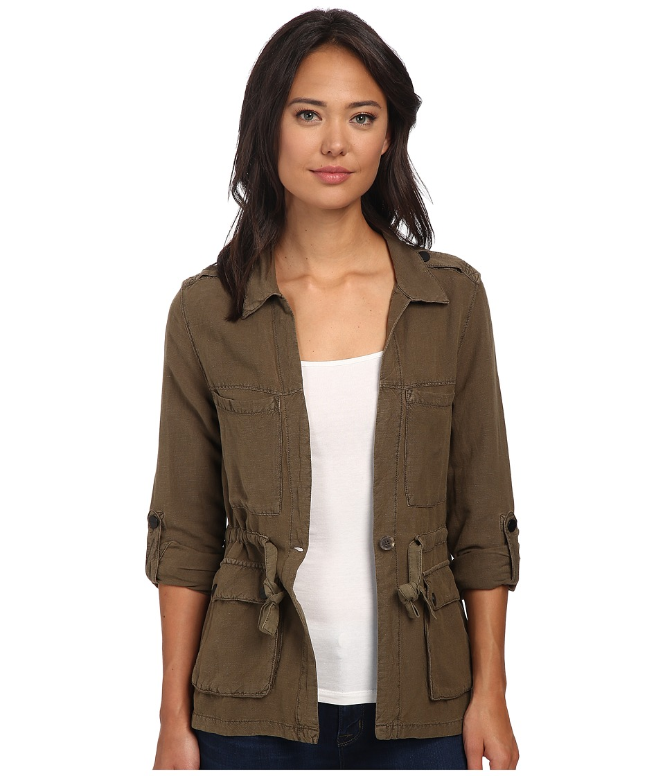 Sanctuary - Day Trip Jacket (Brown Olive) Women's Coat