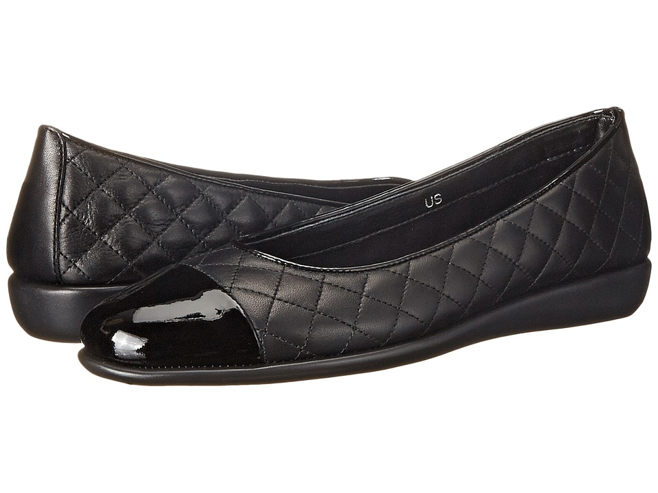 The FLEXX - Rise A Smile (Black/Black Cashmere/Patent) Women's Shoes