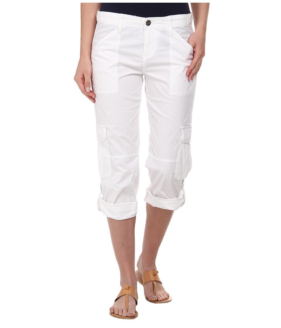 Sanctuary - Nature Crop (White) Women's Clothing