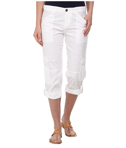 Sanctuary - Nature Crop (White) Women's Clothing