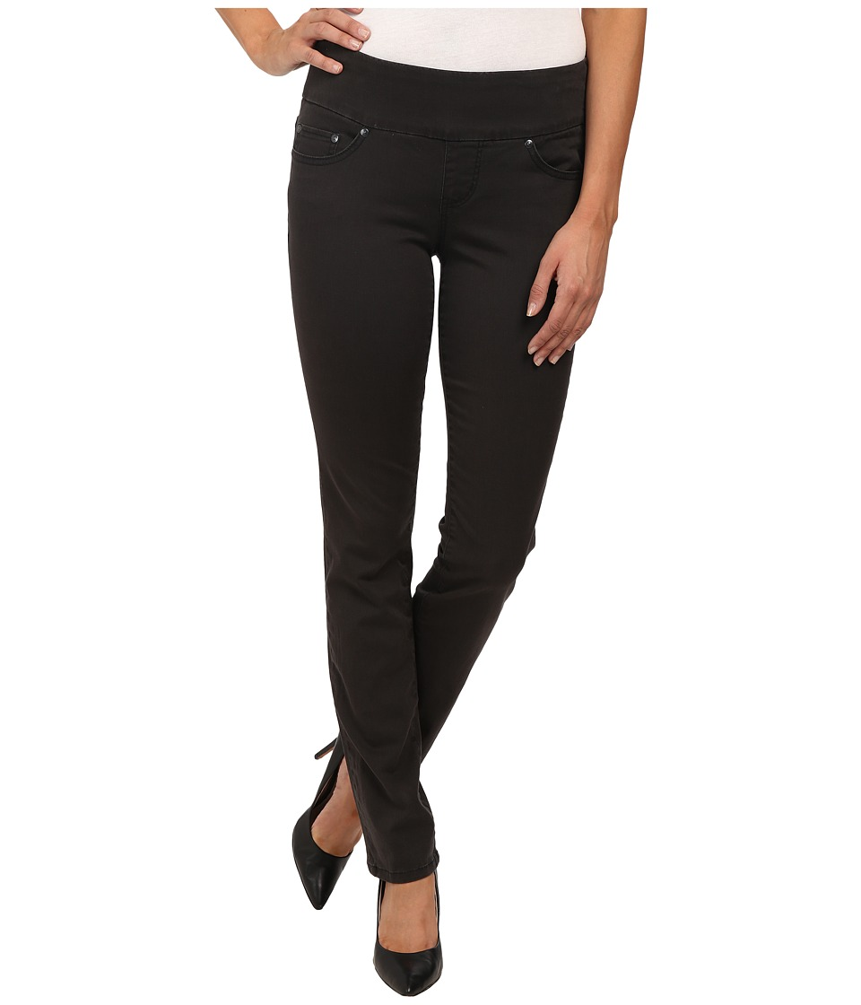 Jag Jeans - Peri Pull-On Straight Bay Twill (Cinder) Women's Casual Pants