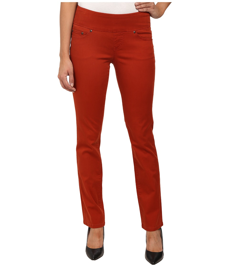 Jag Jeans - Peri Pull-On Straight Bay Twill (Henna) Women's Casual Pants