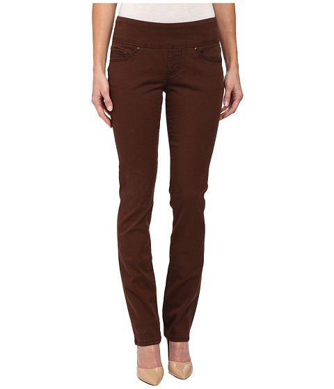 Jag Jeans - Peri Pull-On Straight Bay Twill (Java Dark) Women's Casual Pants