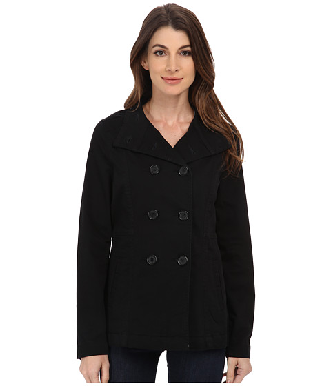 Jag Jeans - Ashland Relaxed Fit Peacoat Bay Twill (Black) Women's Coat