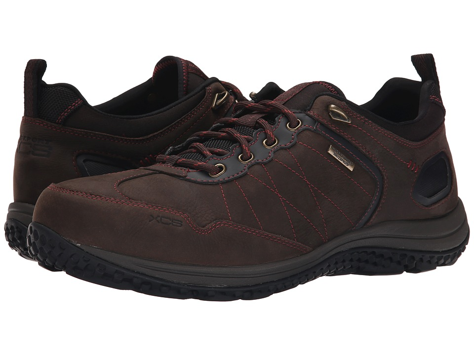 Rockport - Walk360 Outdoor Trail Low (Dark Brown/Baked Clay) Men's Shoes