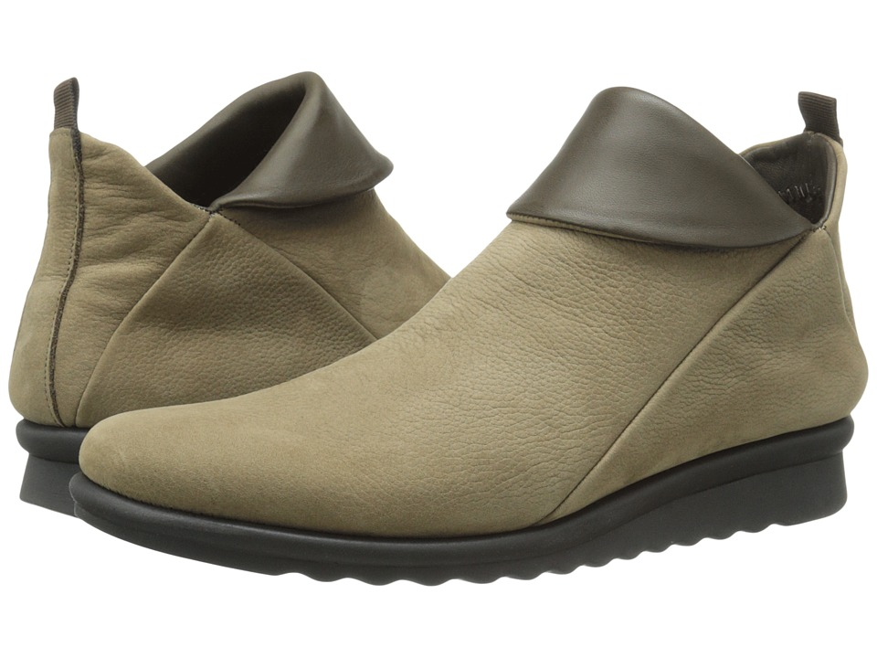 The FLEXX - Pan Damme (Desert/Loden Dakar/Seta) Women's Shoes