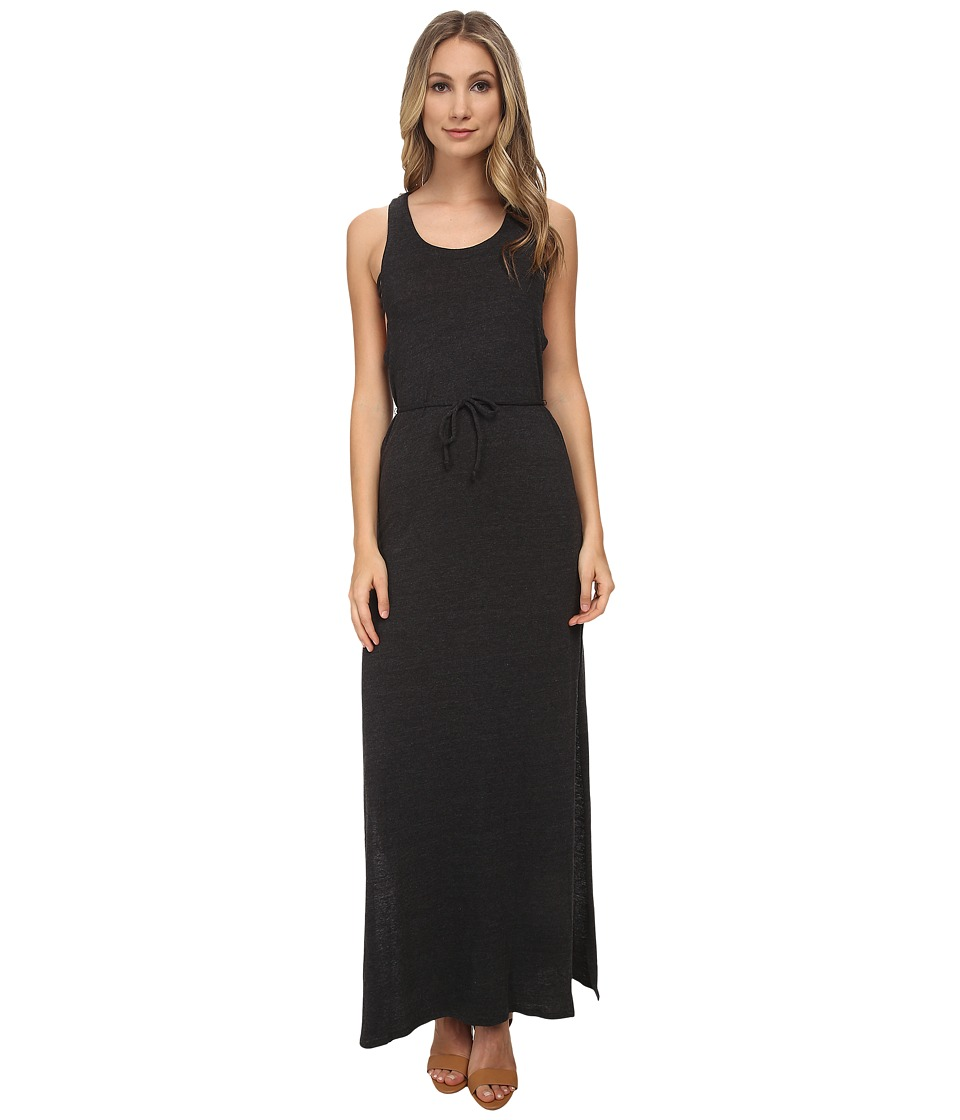 Chaser Triblend Low Back Strappy Maxi Dress (Black) Women