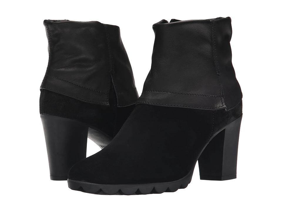 The FLEXX - Dip Rock (Black Suede/Seta) Women's Shoes