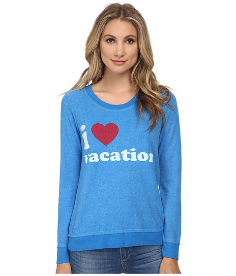 Chaser - I Heart Vacation Sweatshirt (Pool) Women