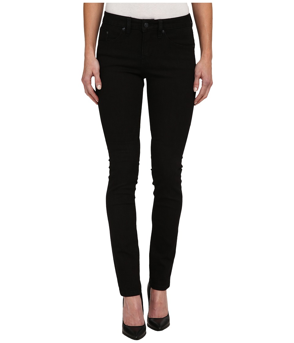 Jag Jeans - Hayward Mid Rise Slim Alpha Denim in Black On Black (Black On Black) Women's Jeans