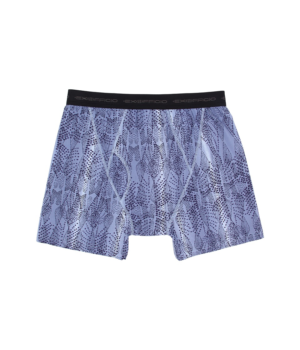 ExOfficio - Give-N-Go Printed Boxer Brief (Varsity/Fish) Men's Underwear