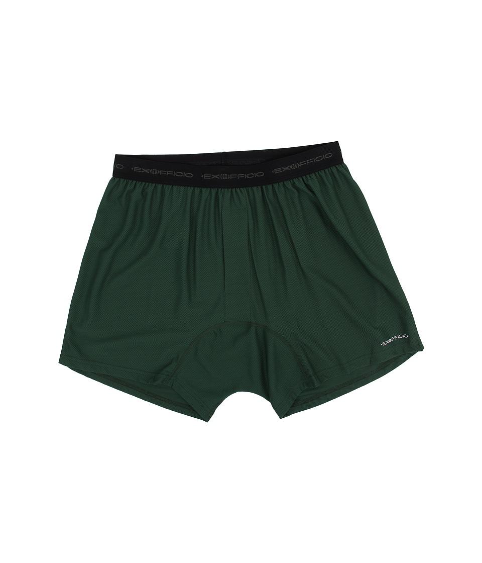 ExOfficio - Give-N-Go Boxer (Petrol) Men's Underwear