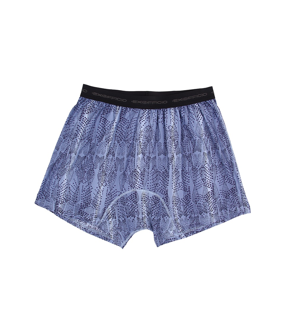 ExOfficio - Give-N-Go Printed Boxer (Varsity/Fish) Men's Underwear