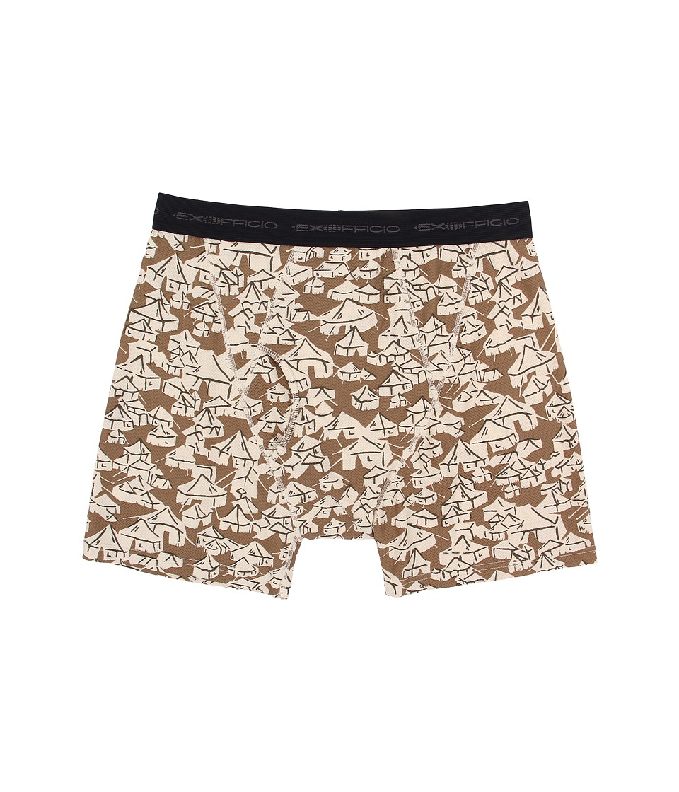 ExOfficio - Give-N-Go Printed Boxer Brief (Loden/Yurt) Men's Underwear