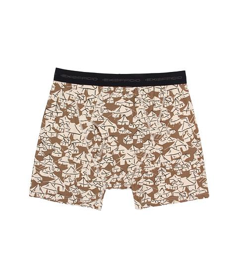 ExOfficio - Give-N-Go Printed Boxer Brief (Loden/Yurt) Men's Underwear