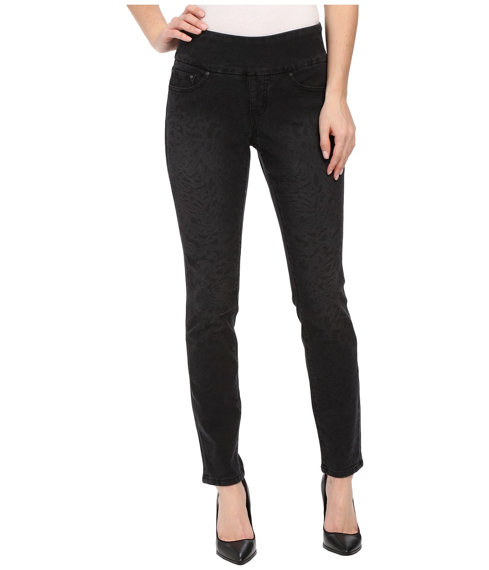 Jag Jeans - Lanna Pull-On Slim Patterned Denim in Tiger Black (Tiger Black) Women
