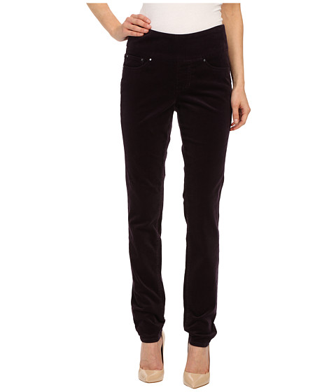 Jag Jeans - Nora Pull-On Skinny 18 Wale Corduroy (Black Orchid) Women's Casual Pants
