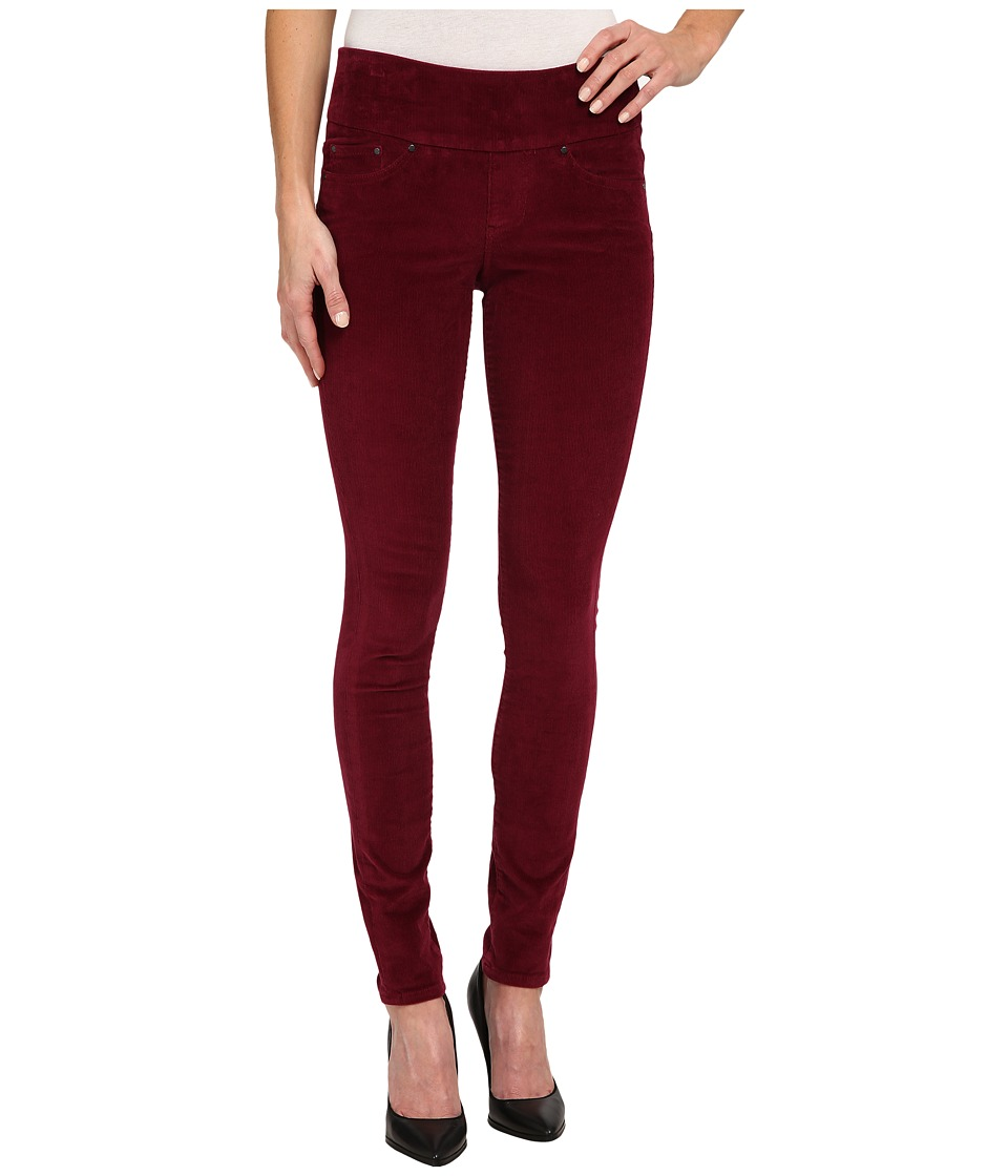 Jag Jeans - Nora Pull-On Skinny 18 Wale Corduroy (Ruby Port) Women's Casual Pants
