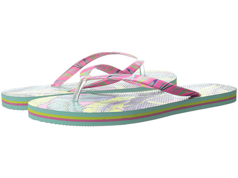 Vera Bradley - Flip Flops (Palm Feathers) Women's Slippers