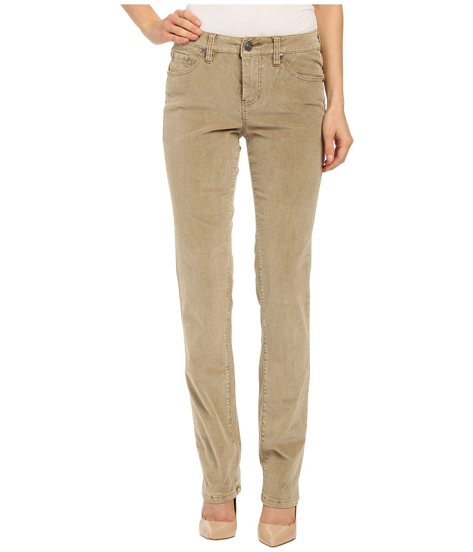 Jag Jeans - Patton Mid Rise Straight 18 Wale Corduroy (Nutty) Women's Casual Pants