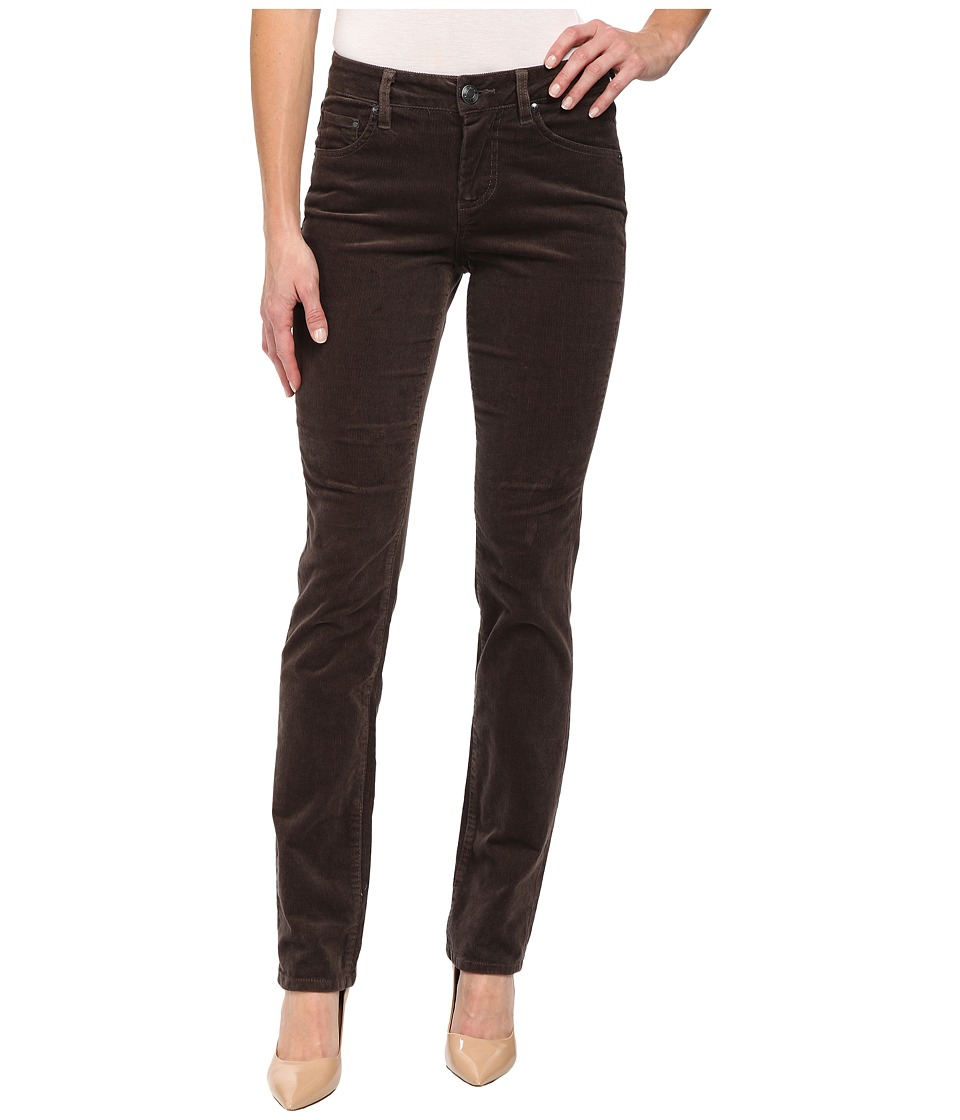 Jag Jeans - Patton Mid Rise Straight 18 Wale Corduroy (Pavement) Women's Casual Pants