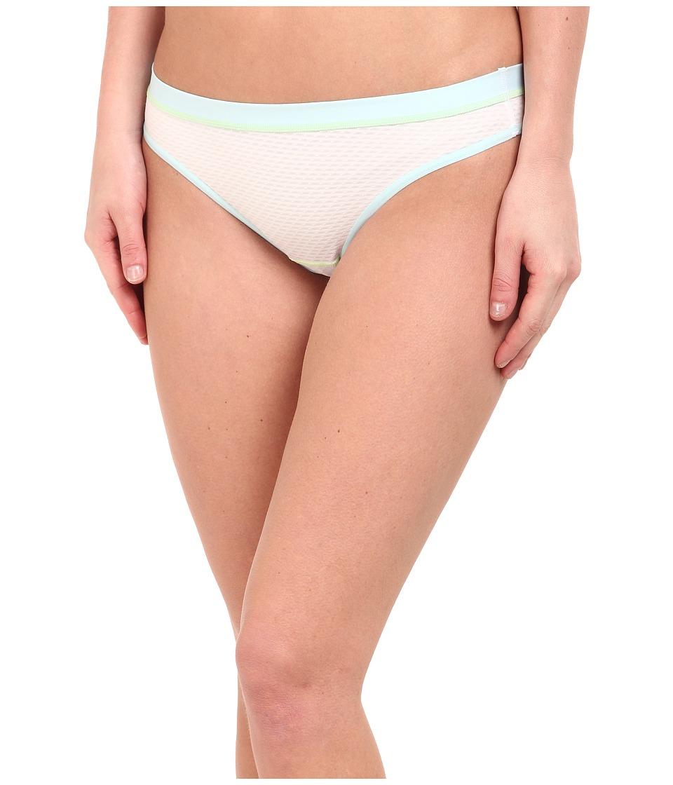 ExOfficio - Give-N-Go Sport Mesh Thong (Glacial) Women's Underwear