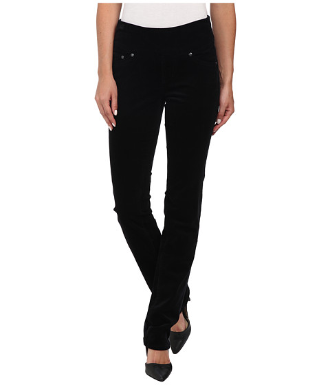 Jag Jeans - Peri Pull-On Straight 18 Wale Corduroy (Black) Women's Jeans