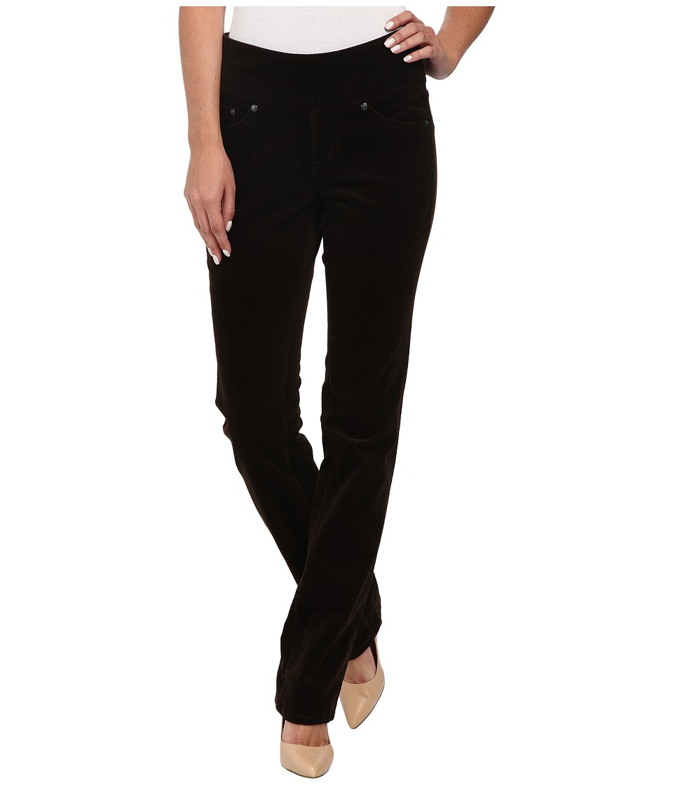 Jag Jeans - Peri Pull-On Straight 18 Wale Corduroy (Dark Chocolate) Women's Jeans