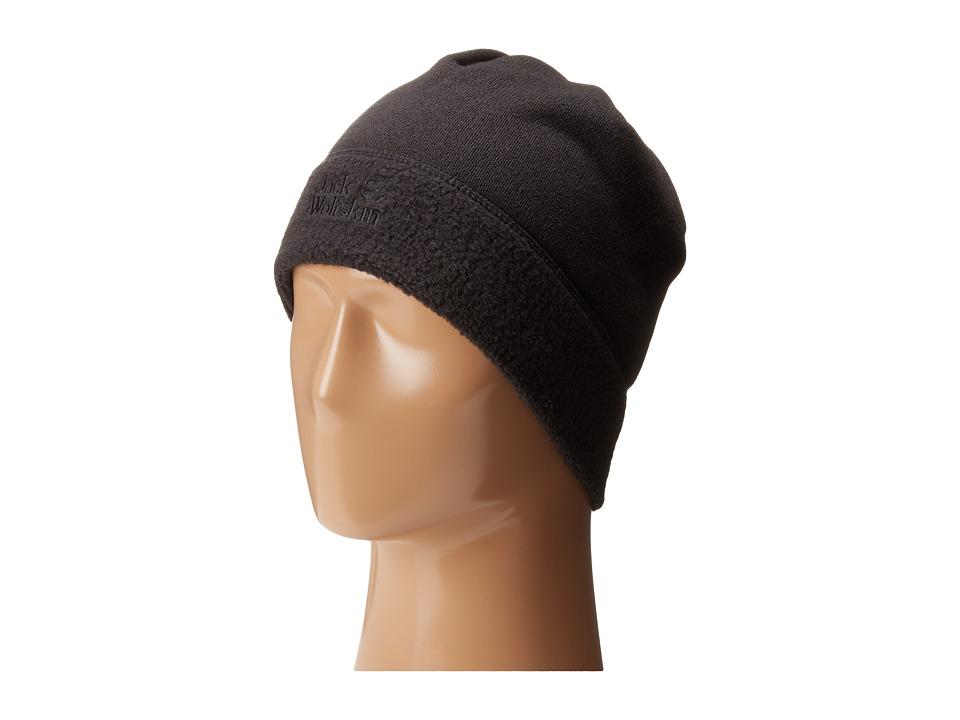 Jack Wolfskin - Caribou Cap (Black) Caps