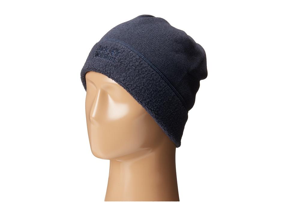 Jack Wolfskin - Caribou Cap (Night Blue) Caps