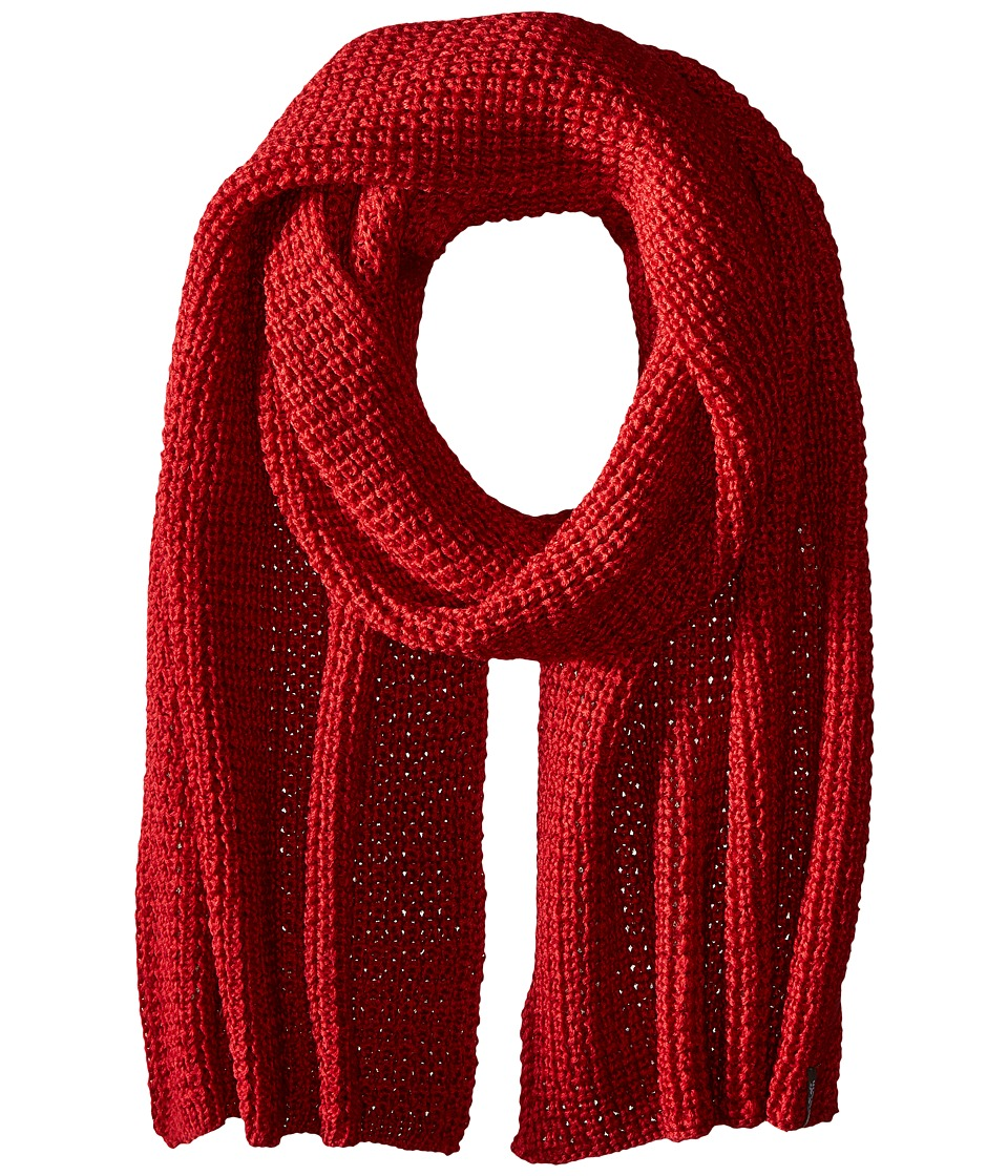 Jack Wolfskin - Milton Scarf (Indian Red) Scarves