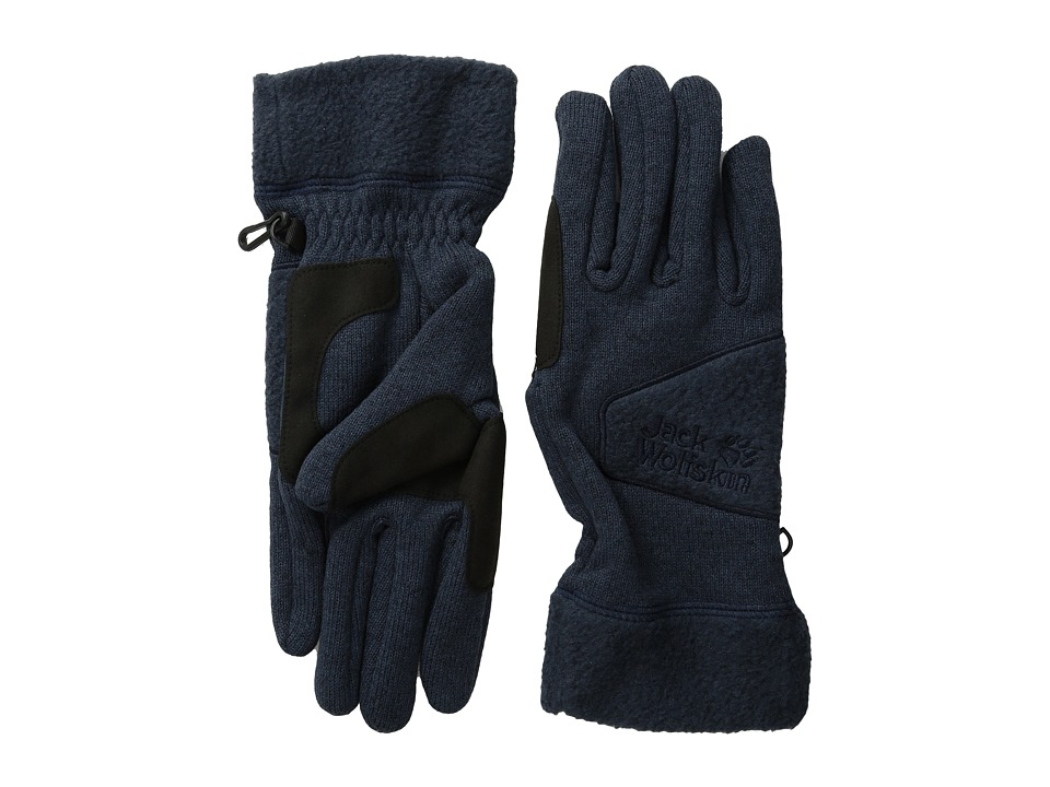 Jack Wolfskin - Caribou Glove (Night Blue) Extreme Cold Weather Gloves