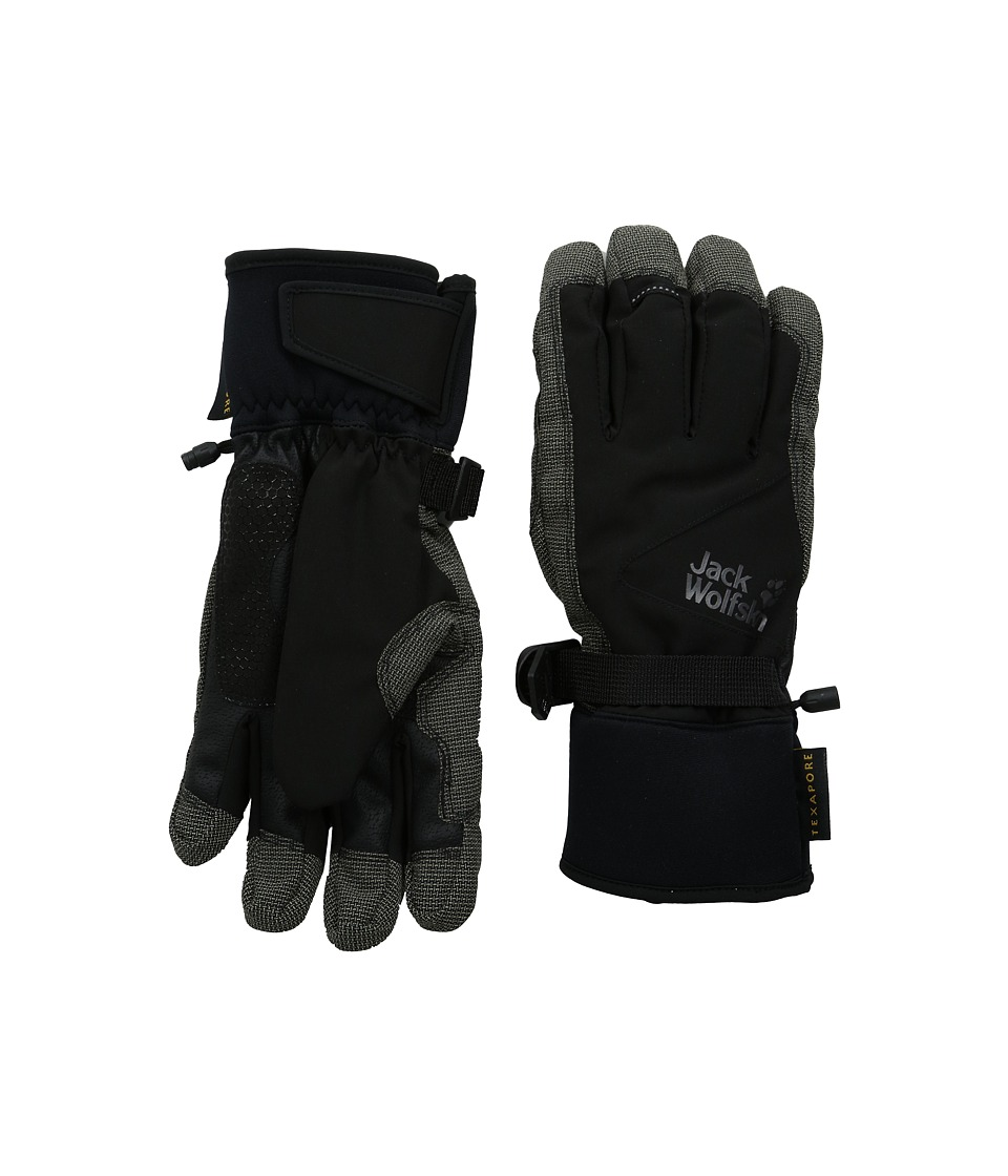 Jack Wolfskin - Texapore Mountain Glove (Black) Extreme Cold Weather Gloves