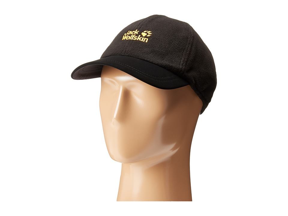 Jack Wolfskin - Headwind Cap (Black) Caps