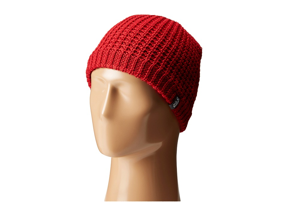 Jack Wolfskin - Milton Cap (Indian Red) Caps