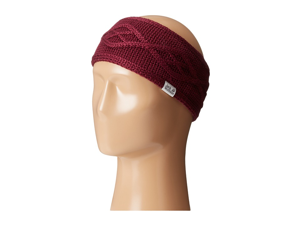 Jack Wolfskin - Plait Headband (Wild Berry) Headband