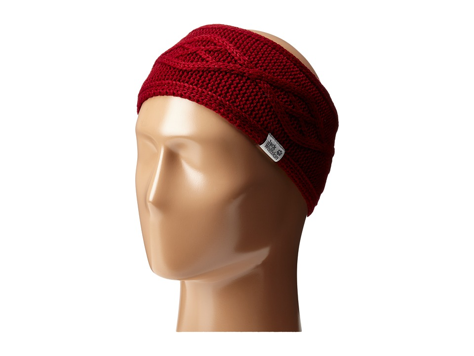 Jack Wolfskin - Plait Headband (Dried Tomato) Headband