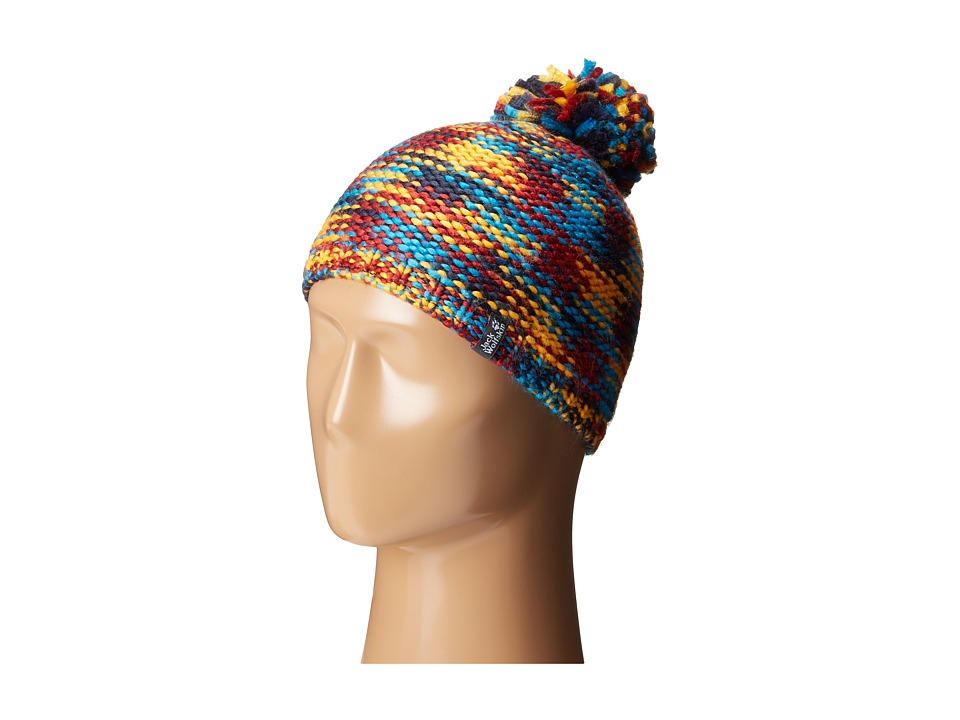 Jack Wolfskin - Kaleidoscope Knit Cap (Little Kid/Big Kid) (Night Blue) Knit Hats