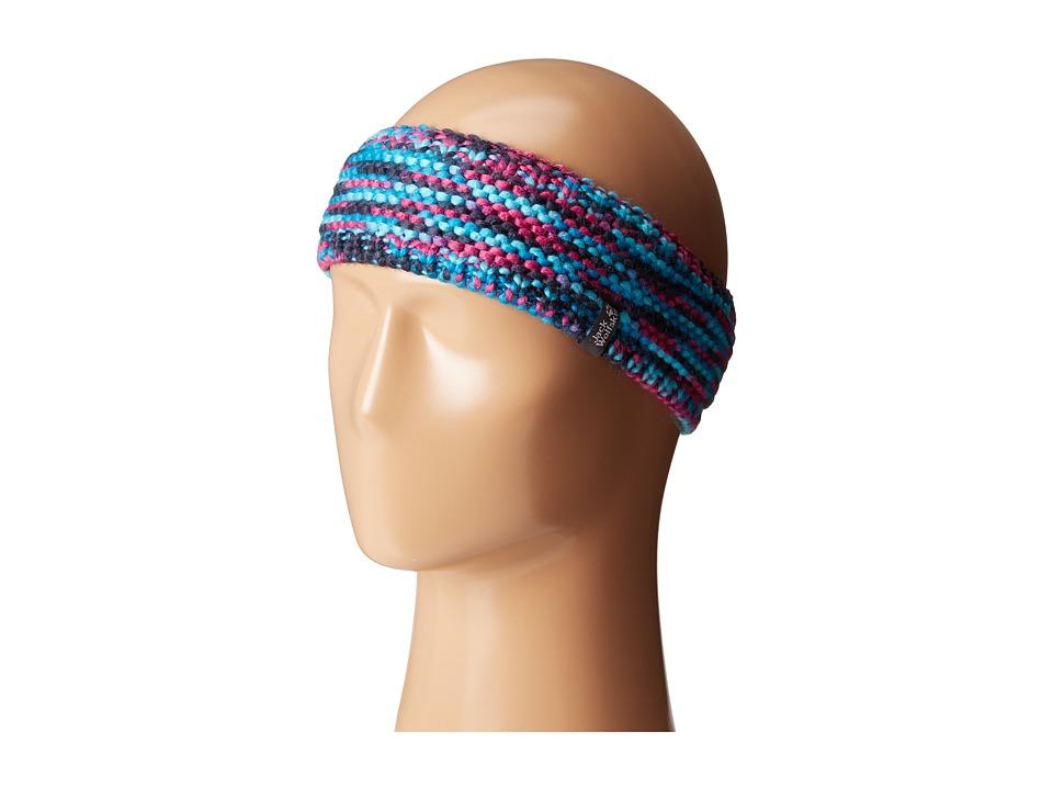 Jack Wolfskin - Kaleidoscope Knit Headband (Little Kid/Big Kid) (Dark Turquoise) Headband