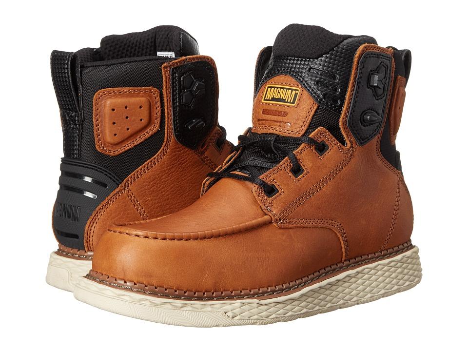 Magnum - Stockton 6.0 (Tan) Men's Work Boots