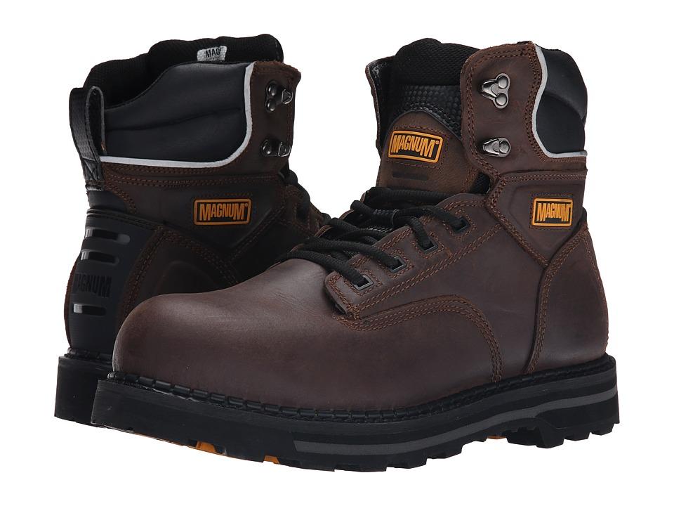 Magnum - Fargo 6.0 ST (Crazy Horse) Men's Work Boots