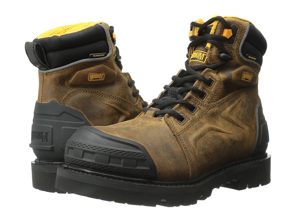 Magnum - Flint 6.0 Z-Flex CT WP (Coffee) Men's Work Boots