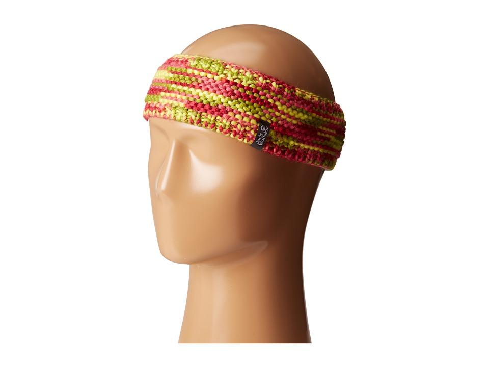 Jack Wolfskin - Kaleidoscope Knit Headband (Little Kid/Big Kid) (Pale Berry) Headband