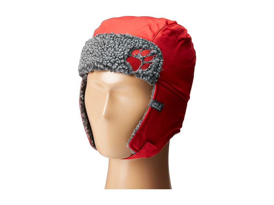 Jack Wolfskin - Rhode Island Stormlock Hat (Little Kid/Big Kid) (Indian Red) Caps