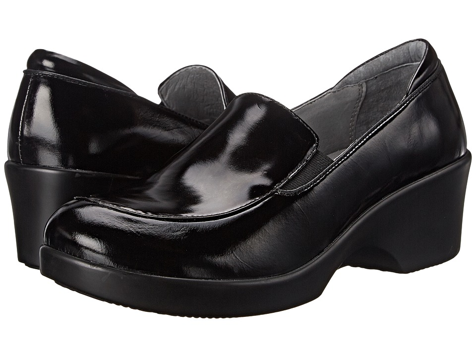 Alegria - Emma (Black Waxy) Women's Slip on Shoes
