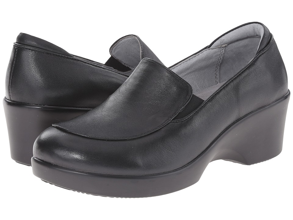 Alegria - Emma (Black Nappa) Women's Slip on Shoes