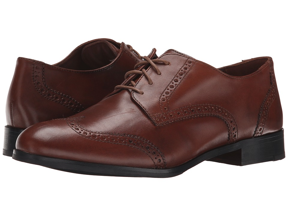 Cole Haan - Jagger Wingtip Oxford (Sequoia) Women's Lace Up Wing Tip Shoes
